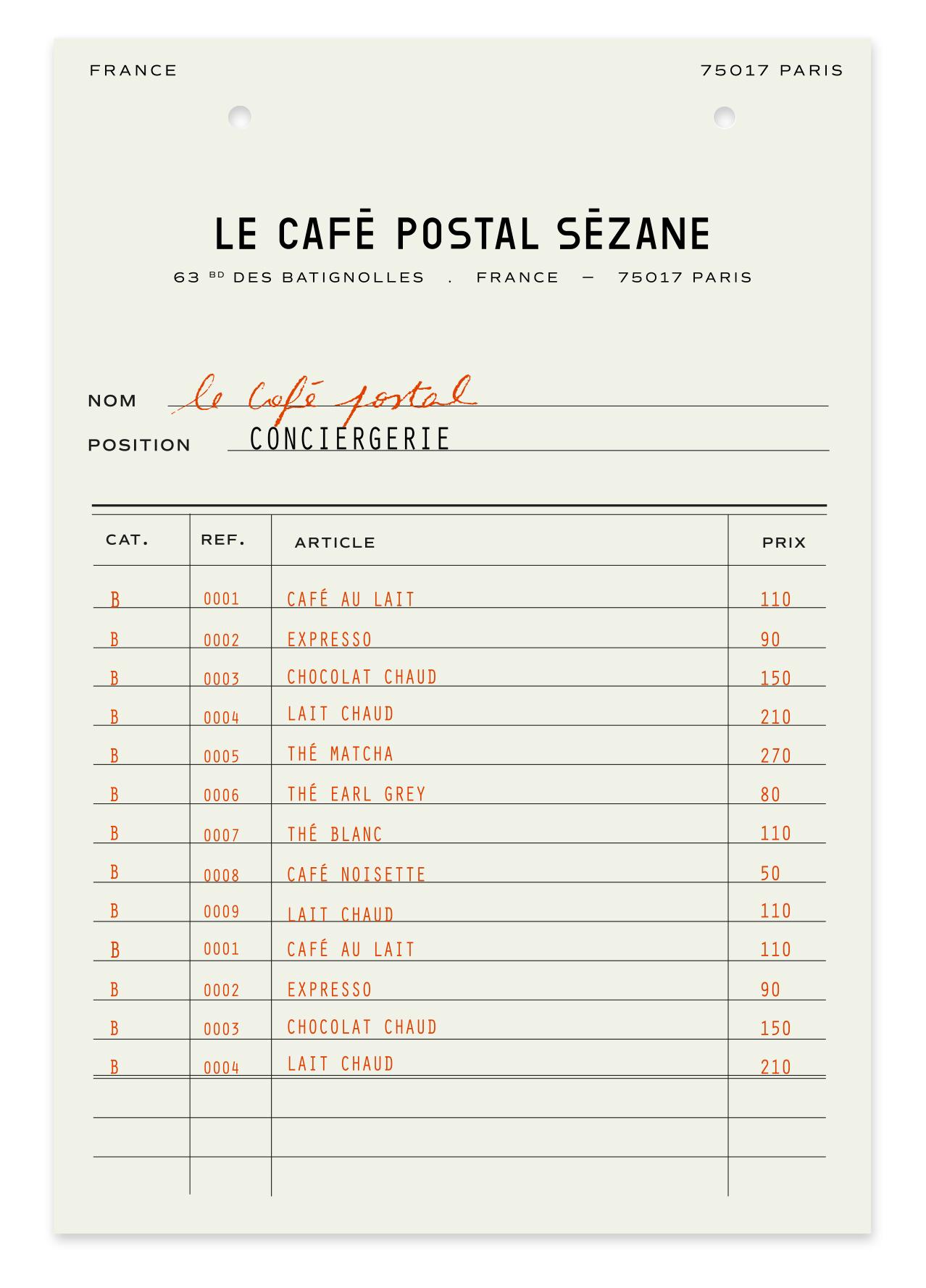 DA-CafePostal